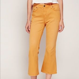Free People Chloe Cropped Flare